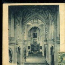 Postales: TARJETA POSTAL DE TOLEDO. SAN JUAN DE LOS REYES, VISTA GENERAL DEL INTERIOR. 712 HAUSER Y MENET. Lote 16327910
