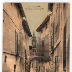 Postales: TARJETA POSTAL DE TOLEDO Nº 39. CUESTA DE LOS PASCUALES. COLECCION DE VDA. E HIJOS DE J. PELAEZ. Lote 268620364