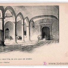 Postales: TARJETA POSTAL DE TOLEDO. PATIO DE SAN JUAN DE AFUERA. 809 HAUSER Y MENET. Lote 16340549