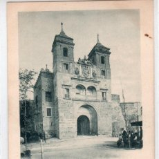 Postales: TARJETA POSTAL DE TOLEDO. PUERTA DEL CAMBRON. 717 HAUSER Y MENET.. Lote 16340891