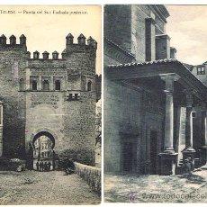 Postales: TOLEDO, 2 POSTALES ANTIGUAS, FECHA SOBRE 1910 - 1925, EDITORES GRAFOS Y H.A.E. SIN CIRCULAR. Lote 27243183