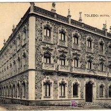 Postales: PRECIOSA POSTAL - TOLEDO - HOTEL CASTILLA . Lote 16624197
