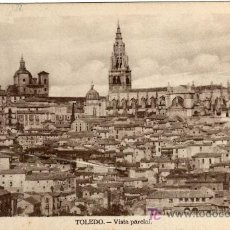 Postales: INTERESANTE POSTAL - TOLEDO - VISTA PARCIAL . Lote 16624280