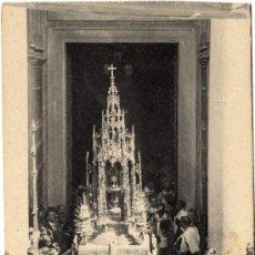 Postales: MAGNIFICA POSTAL - TOLEDO - LA CUSTODIA SALIENDO A LA PROCESION DEL CORPUS . Lote 18767534