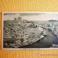 Postales: 1930C. – TOLEDO. VISTA Y RÍO TAJO. POSTAL. Lote 27133722