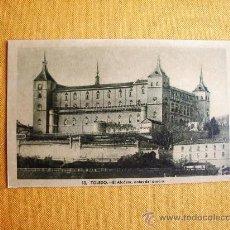 Postales: 1930C. – TOLEDO. EL ALCÁZAR ANTES DEL ASEDIO. POSTAL. Lote 27133723
