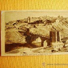 Postales: 1920C. – TOLEDO. VISTA PARCIAL Y PUENTE DE SAN MARTÍN. POSTAL. Lote 27133738