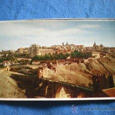 Postales: POSTAL TOLEDO PUENTE DE SAN MARTIN NO CIRCULADA. Lote 16785738