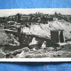Postales: POSTAL TOLEDO PUENTE DE SAN MARTIN 1952 CIRCULADA. Lote 16785812
