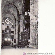 Postales: TOLEDO.Nº 28 CATEDRAL,PULPITO Y ALTAR MAYOR.HELIOTIPIA ARTISTICA ESPAÑOLA.MADRID. Lote 17161663