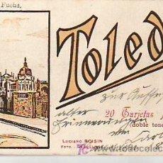 Postales: TOLEDO.BLOC LIBRETO DE 20 POSTALES (DOBLE TONO) LUCIANO ROISIN . Lote 25212029