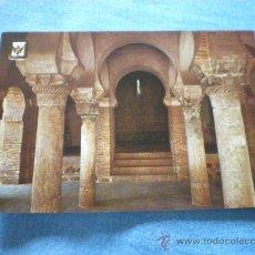Postales: POSTAL TOLEDO SINAGOGA DEL CRISTO DE LA LUZ INTERIOR NO CIRCULADA. Lote 17398303