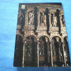 Postales: POSTAL TOLEDO CATEDRAL BERRUGUETE SILLERIA DEL CORO CIRCULADA. Lote 17398434