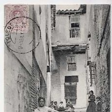 Cartes Postales: TOLEDO. UNA CALLE. ED. COMERCIO 1 GONZALEZ. CIRCULADA. Lote 17651688