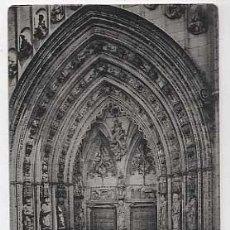 Cartoline: TOLEDO. CATEDRAL. PUERTA DE LOS LEONES. FOTOTIPIA HAUSER Y MENET. SIN CIRCULAR. Lote 17861971