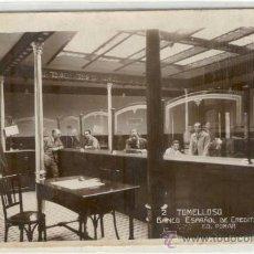 Postales: (PS-15780)POSTAL FOTOGRAFICA DE TOMELLOSO(CIUDAD REAL)-BANCO ESPAÑOL DE CREDITO. Lote 17990874