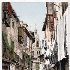 Postales: TOLEDO. CALLE DEL COMERCIO. PURGER & CO 2769. REVERSO SIN DIVIDIR. SIN CIRCULAR. Lote 18043253