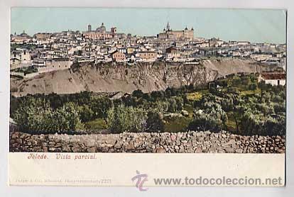 TOLEDO. VISTA PARCIAL. PURGER & CO 2201. REVERSO SIN DIVIDIR. SIN CIRCULAR (Postales - España - Castilla La Mancha Antigua (hasta 1939))