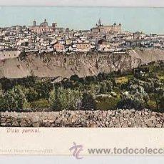 Postales: TOLEDO. VISTA PARCIAL. PURGER & CO 2201. REVERSO SIN DIVIDIR. SIN CIRCULAR. Lote 18043277