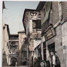 Postales: TOLEDO. CALLE DE SANTA FE. PURGER & CO 2770. REVERSO SIN DIVIDIR. Lote 18261260
