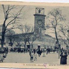 Postales: ALBACETE.-MERCADO. Lote 18588175