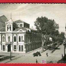 Postales: ALBACETE, AYUNTAMIENTO Y AVENIDA DE JOSE ANTONIO, P37434. Lote 22391679