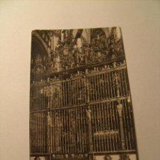 Postales: POSTAL DE TOLEDO, CATEDRAL, ALTAR MAYOR. CIRCULADA AÑO 1944. POSTAL 84. Lote 19249823