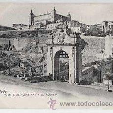 Cartes Postales: TOLEDO. PUENTE DE ALCANTARA Y EL ALCAZAR. FOTOIPIA LACOSTE. REVERSO SIN DIVIDIR. SIN CIRCULAR. Lote 19284979