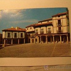 Postales: POSTAL DE ATIENZA, GUADALAJARA. PLAZA MAYOR.AÑO 1968. SIN CIRCULAR. POSTAL 100. Lote 19309095