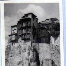 Postales: CUENCA. CASAS COLGADAS. FOTOGRAFIA TAMAÑO POSTAL. SIN REVERSO. SIN CIRCULAR.. Lote 19689409