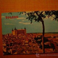 Postales: POSTAL TOLEDO VISTA PARCIAL ALCAZAR CIRCULADA. Lote 19833872