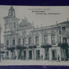 Postales: GUADALAJARA.- FACHADA DEL AYUNTAMIENTO.. Lote 23115345
