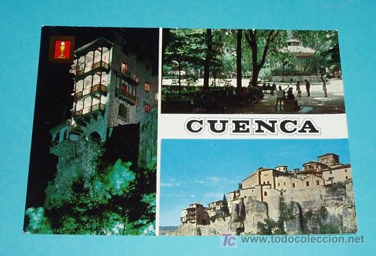 POSTAL VISTAS DE CUENCA (Postales - España - Castilla la Mancha Moderna (desde 1940))