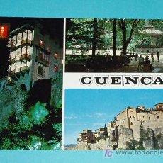 Postales: POSTAL VISTAS DE CUENCA. Lote 19912490