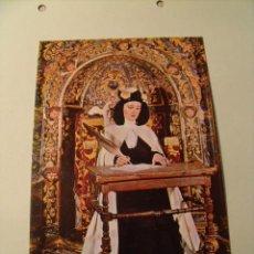 Postales: POSTAL DE MALAGÓN. CIUDAD REAL. SANTA TERESA DE JESUS. CARMELITAS DESCALZOS. SIN CIRCULAR. S-60. Lote 20669014