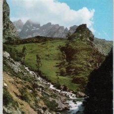 Postales: PICOS DE EUROPA.- VALLE DE VALDEÓN,HOZ DE CAÍN Y RÍO CARES.. Lote 21085490