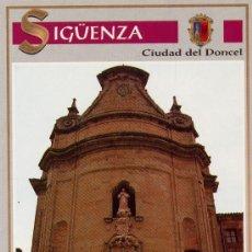 Cartes Postales: POSTAL DE SIGÜENZA - GUADALAJARA = IGLESIA DE LAS MM. URSULINAS. Lote 21346149