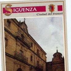 Cartes Postales: POSTAL DE SIGÜENZA - GUADALAJARA. PALACIO DE INFANTES. Lote 21346316