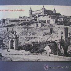 Postales: POSTAL DE TOLEDO, PUENTE DE ALCANTARA (SIN CIRCULAR, FOTOTIPIA CASTAÑEIRA Y ALVAREZ). Lote 21353062