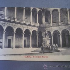 Postales: POSTAL DE TOLEDO, PATIO DEL ALCAZAR (SIN CIRCULAR, FOTOTIPIA CASTAÑEIRA Y ALVAREZ). Lote 21353166