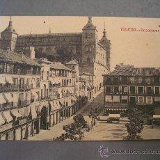 Postales: POSTAL DE TOLEDO, ZOCODOVER (SIN CIRCULAR. AGUJEREADA. FOTOTIPIA CASTAÑEIRA Y ALVAREZ). Lote 21353339