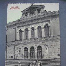 Postales: POSTAL DE TOLEDO, TEATRO ROJAS ( SIN CIRCULAR, FOTOTIPIA CASTAÑEIRA Y ALVAREZ). Lote 21353557