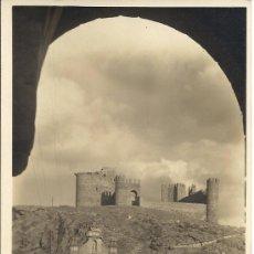 Postales: PS2347 TOLEDO 'PUENTE DE ALCÁNTARA Y CASTILLO'. ALSINA. FOTOGRÁFICA. CIRCULADA TOLEDO - MADRID 1931. Lote 21814356