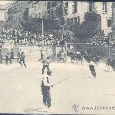 Postales: BRIHUEGA( GUADALAJARA).- LA BAJADA DE LOS TOROS. Lote 22099039