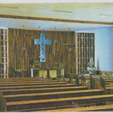 Postales: TARJETA POSTAL DE VILLARROBLEDO NUEVA CAPILLA DEL SANTISIMO EN LA PARROQUIA DE SAN BLAS ALBACETE. Lote 22105410
