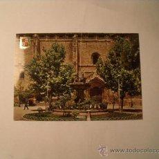 Postales: POSTAL DE VALDEPEÑAS., CIUDAD REAL. IGLESIA DE LA ASUNCIÓN. CIRCULADA. POSTAL 632. Lote 22689527