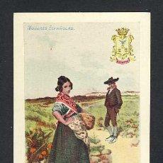 Postales: POSTAL ILUSTRADA: SERIE MUJERES ESPAÑOLAS: MUJER DE ALBACETE (ED.CALLEJA NUM.12, 102). Lote 22839441