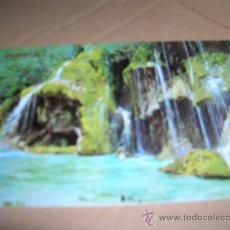 Postales: TARJETA POSTAL Nº 550: CUENCA. NACIMIENTO DEL RIO CUERVO. AÑOS 60-70. SIN USAR.. Lote 22857917
