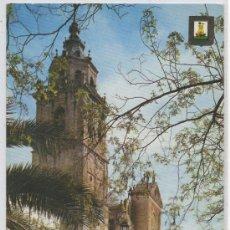 Postales: TARJETA POSTAL TALAVERA DE LA REINA TOLEDO IGLESIA SANTA MARIA LA MAYOR COLEGIATA. Lote 23385958