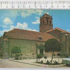 Postales: TARJETA POSTAL DE ALMODOVAR DEL CAMPO IGLESIA PARROQUIAL CIUDAD REAL COCHE. Lote 23422714